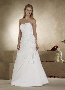 Arriendo vestidos de novia civil